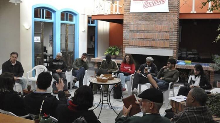 Assembleia de greve em 2012.