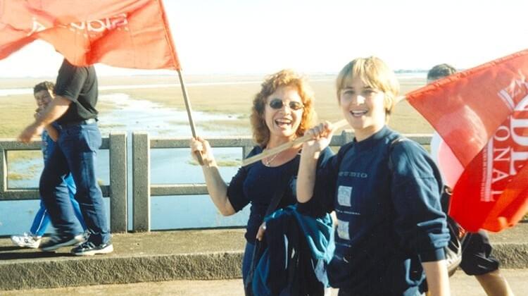 Campanha da Educação  em 1998.