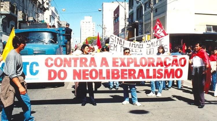 Dia Nacional de Paralisação e Protesto em 1999.