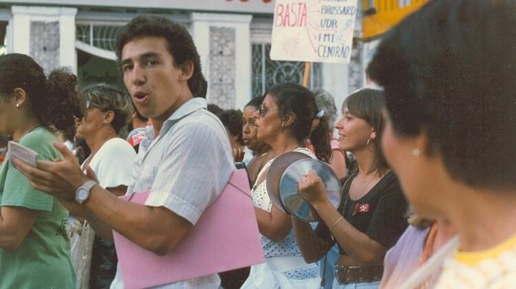Greve Geral constituinte em 1988.