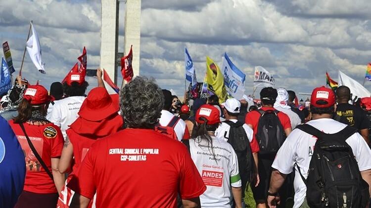 Ocupa Brasília em 2017.