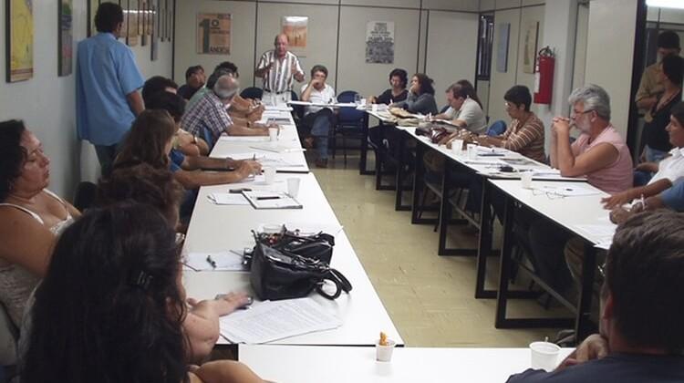Reunião do Setor das IFES no ANDES em 2006.