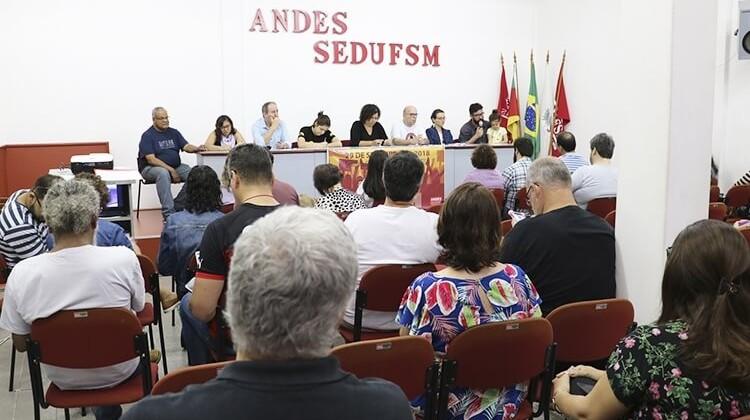 Seminário sobre capacitismo em 2018.