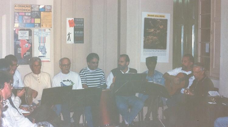 Sexta Cultural em 1993.